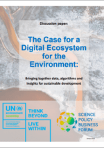 The Case for a Digital Ecosystem for the Environment
