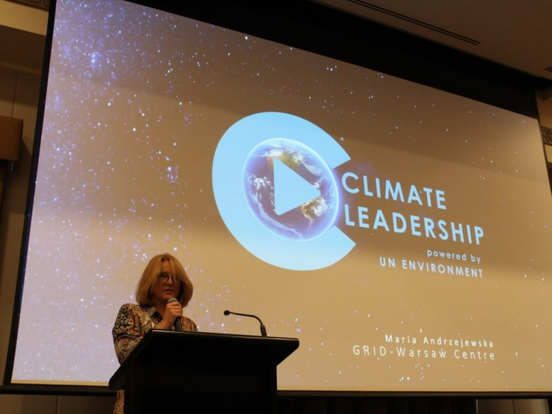 Climate Leadership programme launched by UNEP/GRID Warsaw